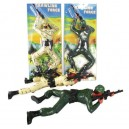 Crawling Soldier Force Toy Lights & Sounds, Battery-operated Climb Soldier Shooting Gun Military Figure