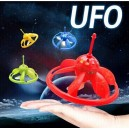 Infrared IR Sensor Flying Saucer UFO Children Toy Hand Controlled Intelligent Hovering