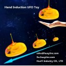Infrared IR Sensor Flying Foam Saucer UFO Disk Craft Toy Hand Palm Controlled Intelligent Hovering