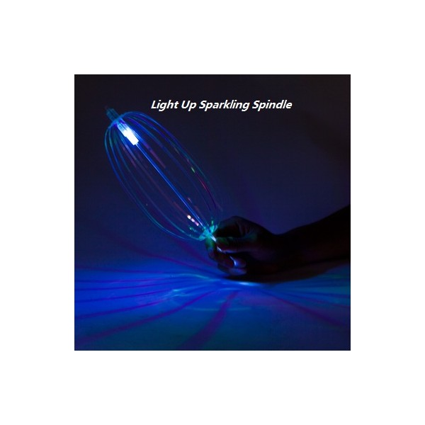 Led light up flashing glow sparkling spinner wand illusion for Led wands wholesale