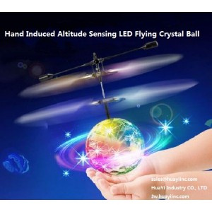 flashing crystal ball drone instructions