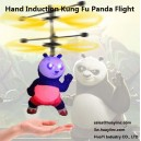 LED Infrared Hand Sensor Induction RC Flying Hover Kung Fu Panda Helicopter Drone Aircraft Flyer Flight Girl Toys Wholesale