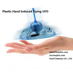 Radio Infrared Hand Induced Sensor Hard Plastic Flying UFO Saucer Disk Frisbee Aircraft Flight USB Recharge Kids Toy Wholesale