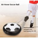 LED Flash Hovering Float Glides Football Soccer Disc Air Power Cushion Indoor Sports Toy Game Foam Bumpers Wholesale