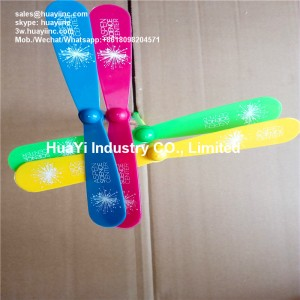 Personalized Flying Spinning LED Dragonfly Toy