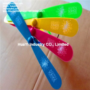 Imprint Logo Glow Plastic Bamboo-Dragonfly Toy