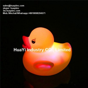 Floating Water Activated Color Changing Rubber Ducks Bath Toy