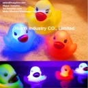 Custom LED Glow Baby Shower Rubber Duckies Toy