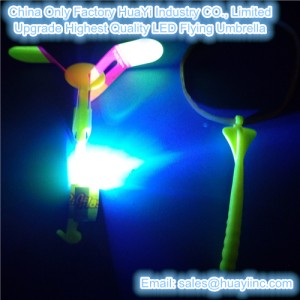 Improved Led Flying Umbrella Toy