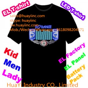 Animated LED Musical T Shirts