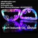 custom printing LED flashing tambourine toy