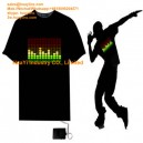 Animation LED Neon Flashing T-Shirt