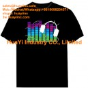 Custom Print LED EL Light up Shirts