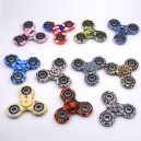 Camouflage Tri-Spinner Fidget Anti Stress Toys