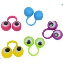 finger googly wiggle eyes spies puppets plastic rings eyeball monster kids children toy