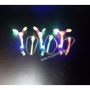 Premium LED light up flying dragonfly copter toy
