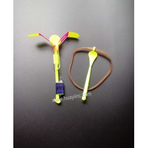 Premium LED light up Florida slingshot helicopters copters toy