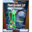 Premium blister card pack LED flash rocket toy