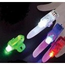 Led Light Laser Finger Beam