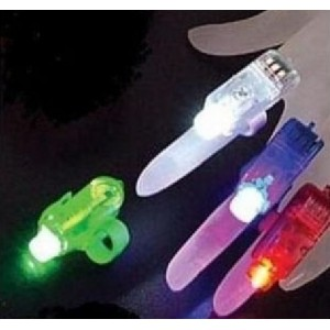 Laser Fingers Beams LED lighted Wholesale Custom Imprinted Logo Promotional Gifts