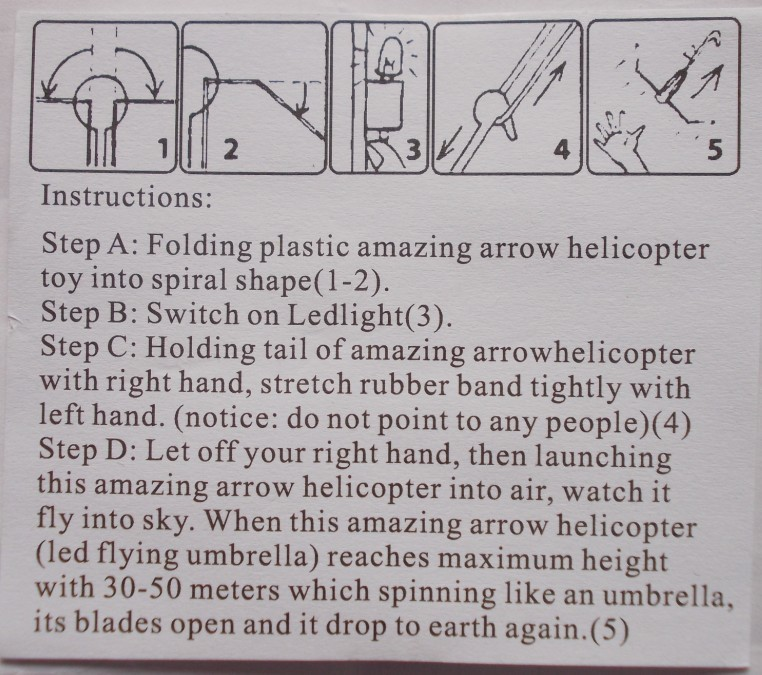 amazing arrow helicopter how to fold paper instructions