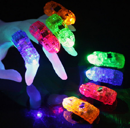 car shaped laser finger beams light LED