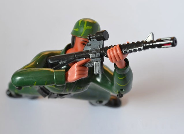 Crawling Soldier Force Toy Lights Amp Sounds Battery
