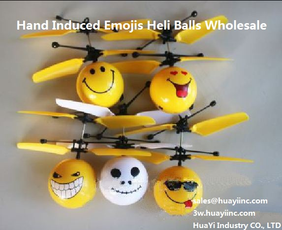 hand induced heli balls emojis wholesale