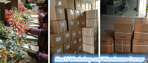 huayi warehouse workshop corner for amazing helicopter toy hy-588a