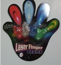 laser finger beams 4pcs per blister card