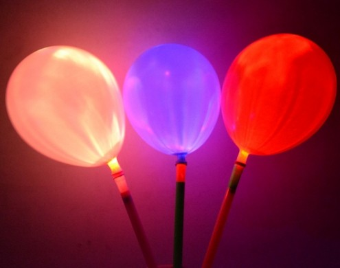 LED balloons light up normal shape HYLB-001A