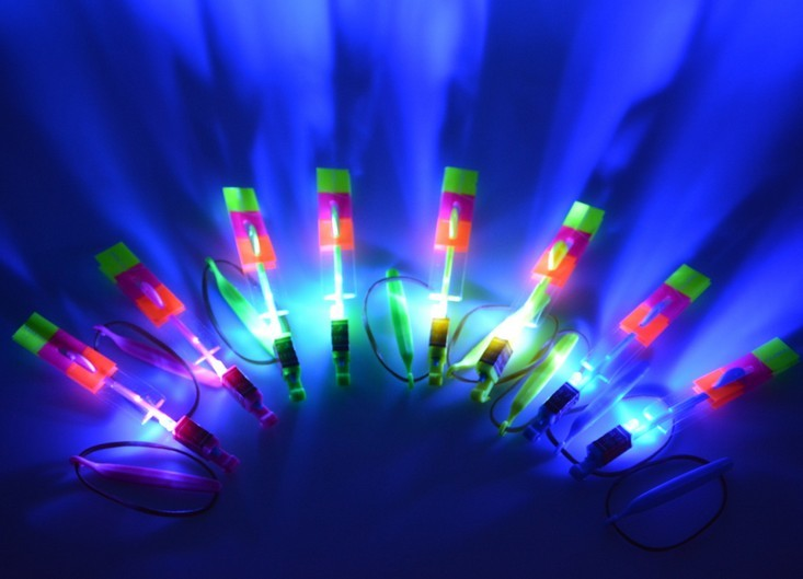 led flying umbrella super bright led light