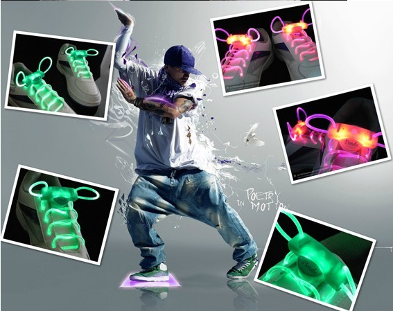 led shoelaces light up laces fashion and cool