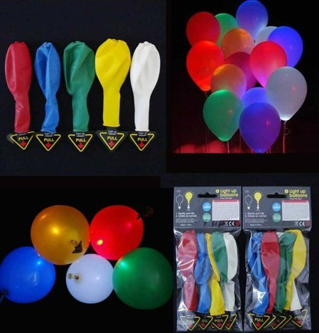 light up ballons led neon wholesale