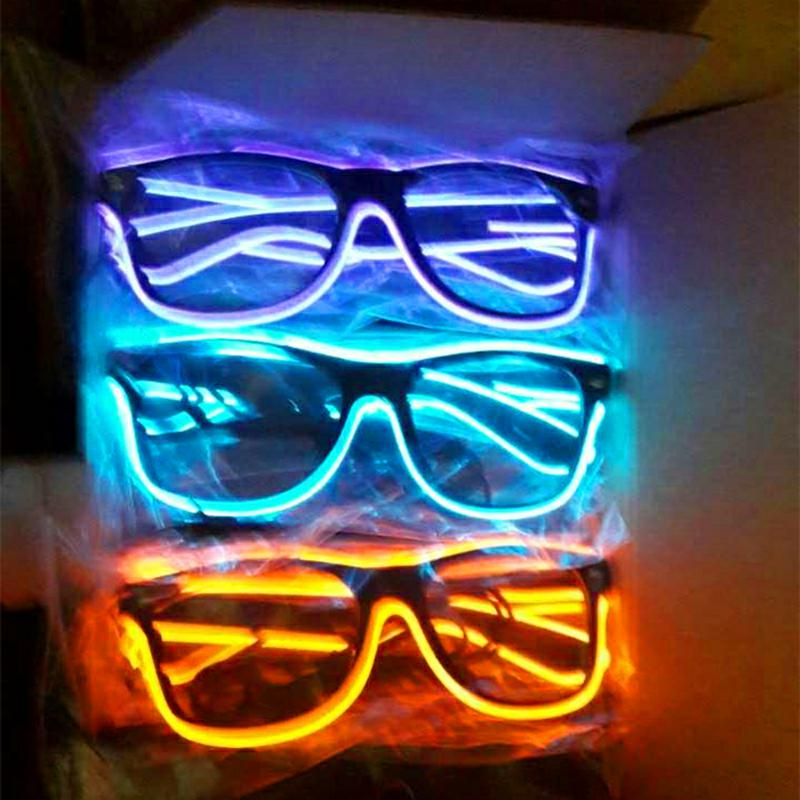 light up neon sunglasses