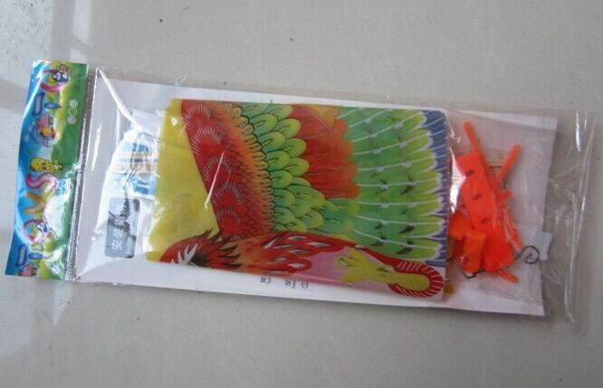 ornithopter toy rubber band powered flying bird 308 each in pp bag