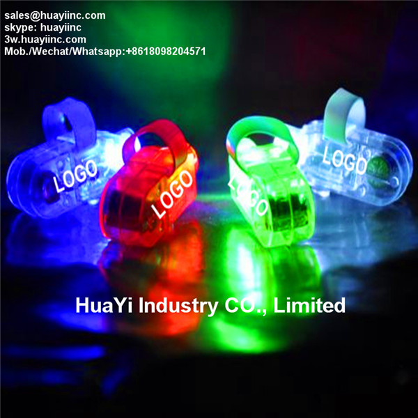 personalized led laser fingers beams