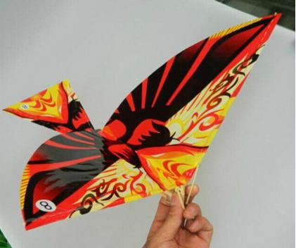 rubber band ornithopter flying birds toy big size new