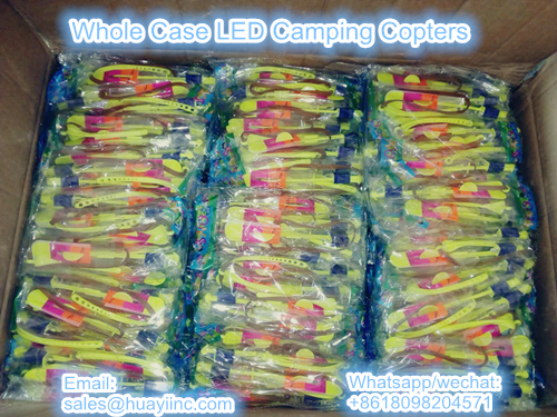 whole case LED camping copters