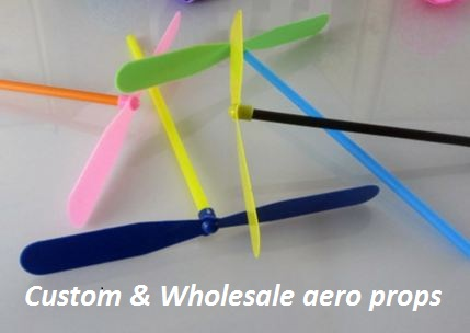wholesale custom aero props propellers toy cheap china